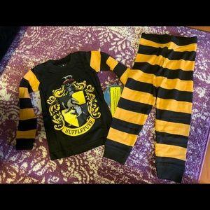 Intimo Harry Potter hufflepuff kids PJ SET size 4